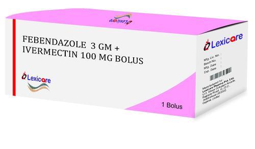 Febendazole and Ivermectin Bolus