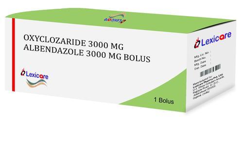 Oxyclozaride and Albendazole  Bolus