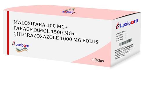 Maloxipara and Paracetamol and Chlorazoxazole Bolus