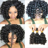 Weft Curly Hair Weaves