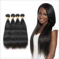 Wefted Straight Hair Weaves