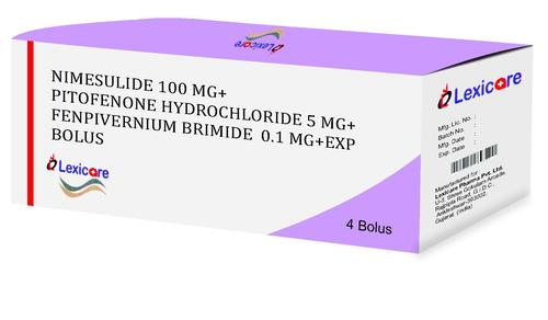 Pitofenone Hydrochloride Bolus