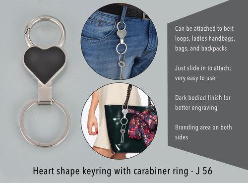 Heart Shape Keyring