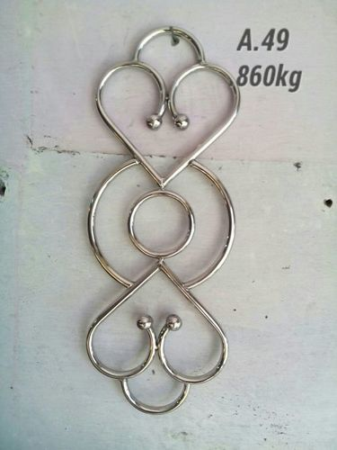 Stainless steel double Heart Shape  A49 Railing