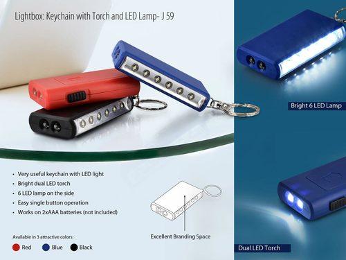 Led Lamp Key Chain