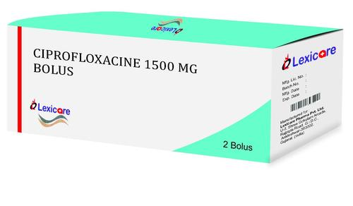 Ciprofloxacin Bolus