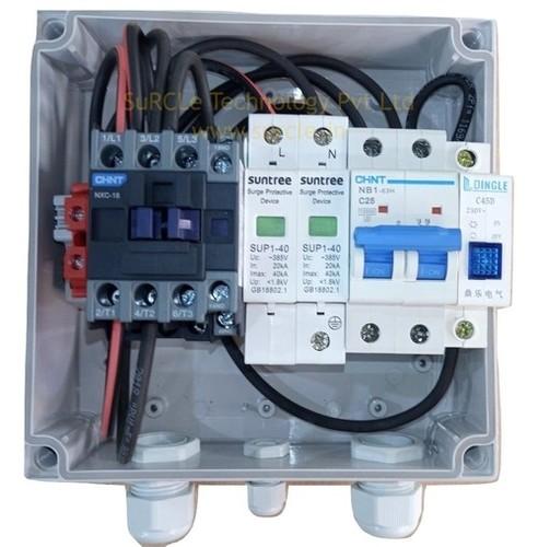 SuRCLe Solar Single Phase 5 kVA , 230 V ACDB with Indicator, reverse