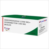 Oxfendazole and Ivermectin Bolus