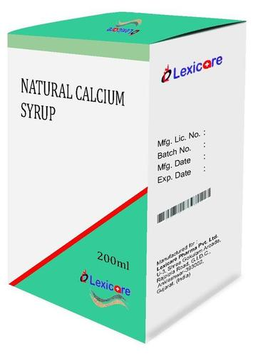 Natural Calcium Syrup