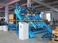 Automatic Blocks Pallet Nailing Line