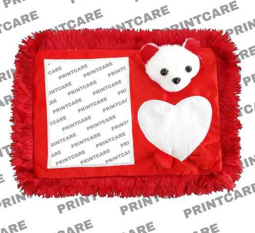 Square Heart Pillow