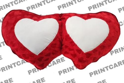 Double Heart Pillow