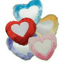 Heart Fur Cushion