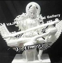 Marble Goddess Saraswati Statue