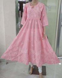 Ladies Designer Chikan Kurti