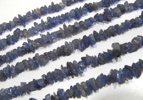 AAA Quality Tanzanite Gravel Uncut Nugget 5mm To 8mm Beads