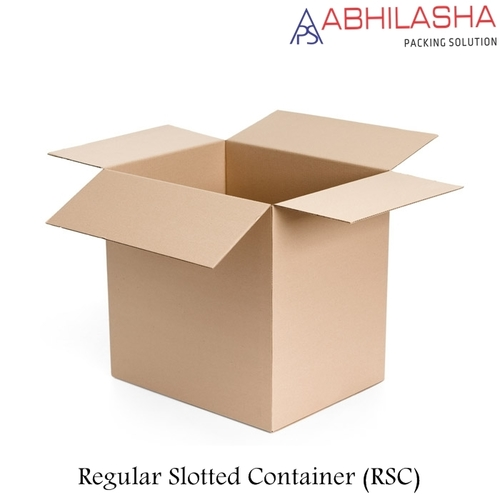 Full Overlap Slotted Container