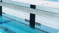 Swimming Pool I-Bar Grating
