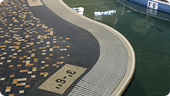 Swimming Pool Interlocking Grating