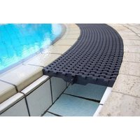 Swimming Pool PVC Gutter Grating