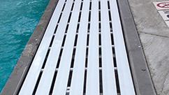 Swimming Pool T-Bar Grating