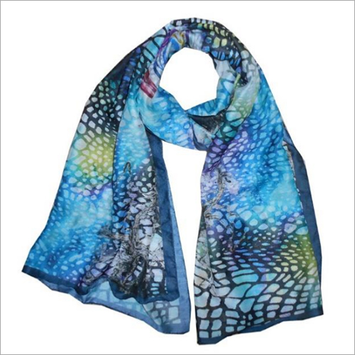 Digital Printed Shawl with Borders