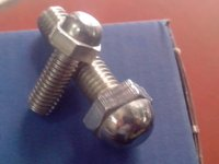 DOME BOLTS STAINLESS STEEL