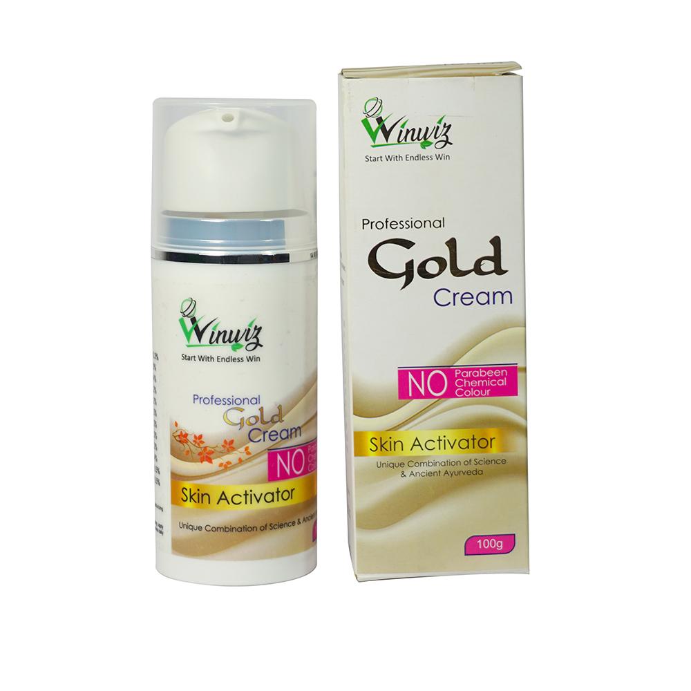 Gold Skin Activator Herbal Face Cream