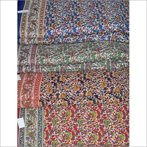 Hand Block Kalmkari Fabric