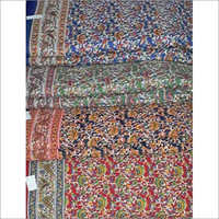 Hand Block Kalmkari Fabric
