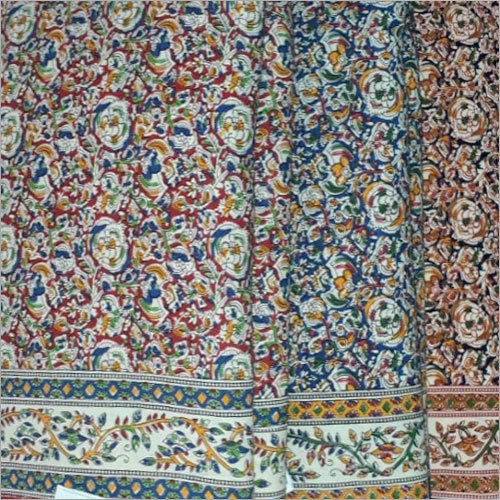Kalamkari Printed Cotton Fabric