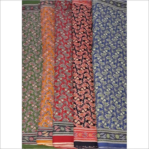 Printed Georgette Cotton Fabric