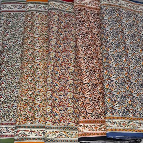 Printed Rapit Soul Cotton  Fabric