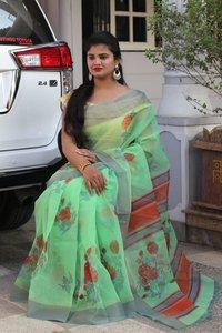 Organza Designer Saree