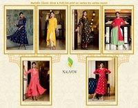 Ladies Flavour New Designer Rayon Work Kurtis