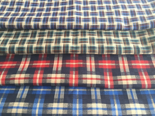 Fancy Check Shirting