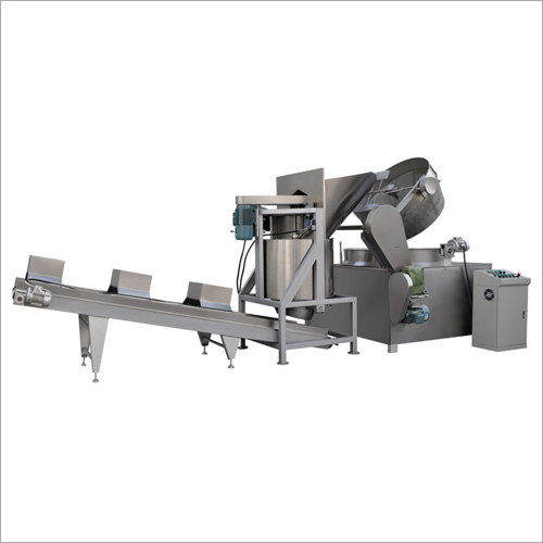 SS Batch Fryer Machine