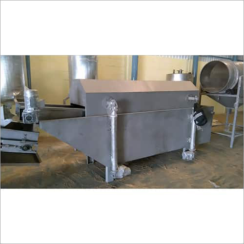 SS Continuous Namkeen Fryer Machine