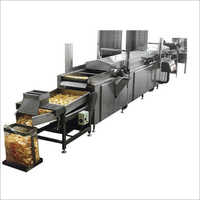 SS Automatic Continuous Fryer Machine