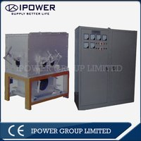 Melting furnace for brass production line