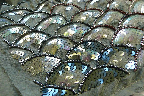 Sequence and Beaded Embroidery