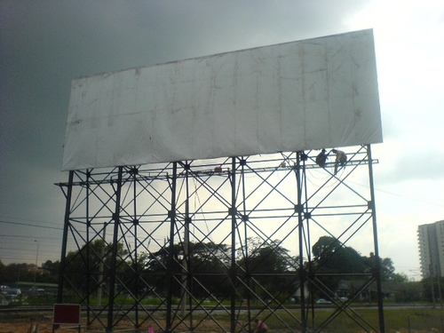 Advertising Board Structure