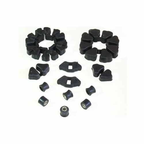 Flexible Rubber Star Couplings