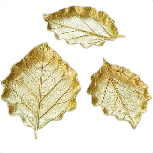 Golden Leaf Tray