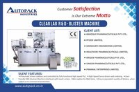 R & D Blister Pack Machine