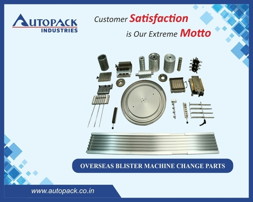 Overseas Blister Machine Change Parts