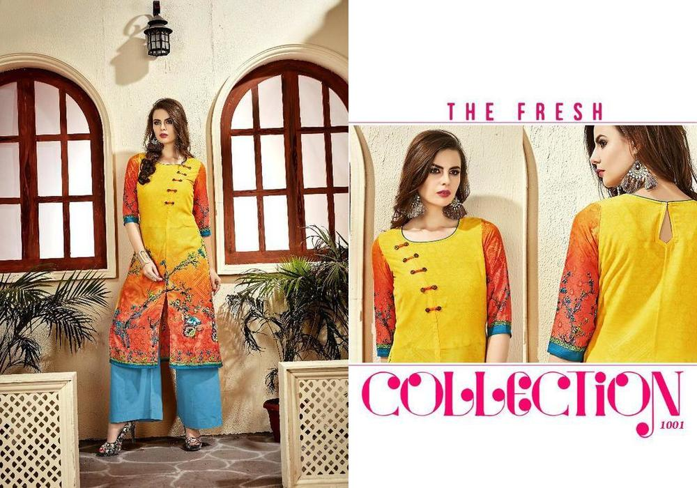 Ready Made Printed Kurtis