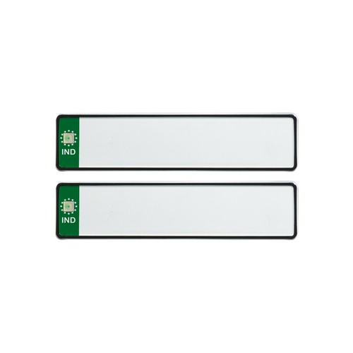 GREEN IND MINI Number Plates