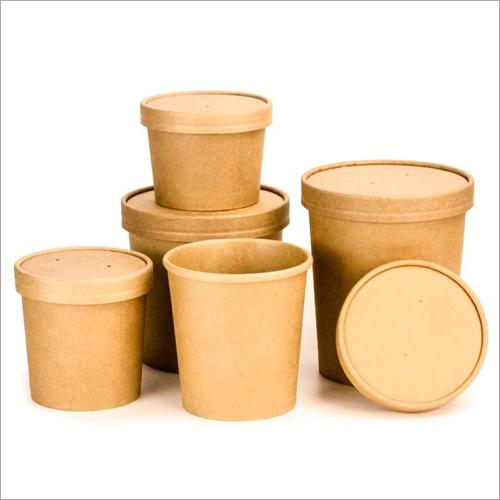 Brown Kraft Paper Bowl