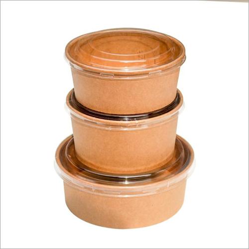 Kraft Paper Tiffin Bowl